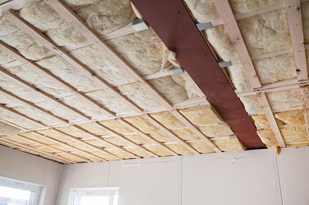 isolation sous faux plafond