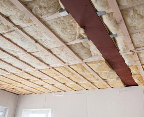cout d'une isolation de plafond